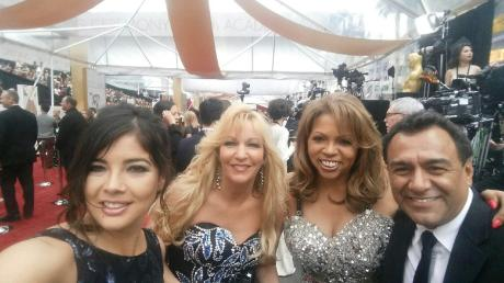 Stephanie Frederic and team (left to right) Yvonne Jimenez, Cyndie Wade, Stephanie and Gilbert Rios
